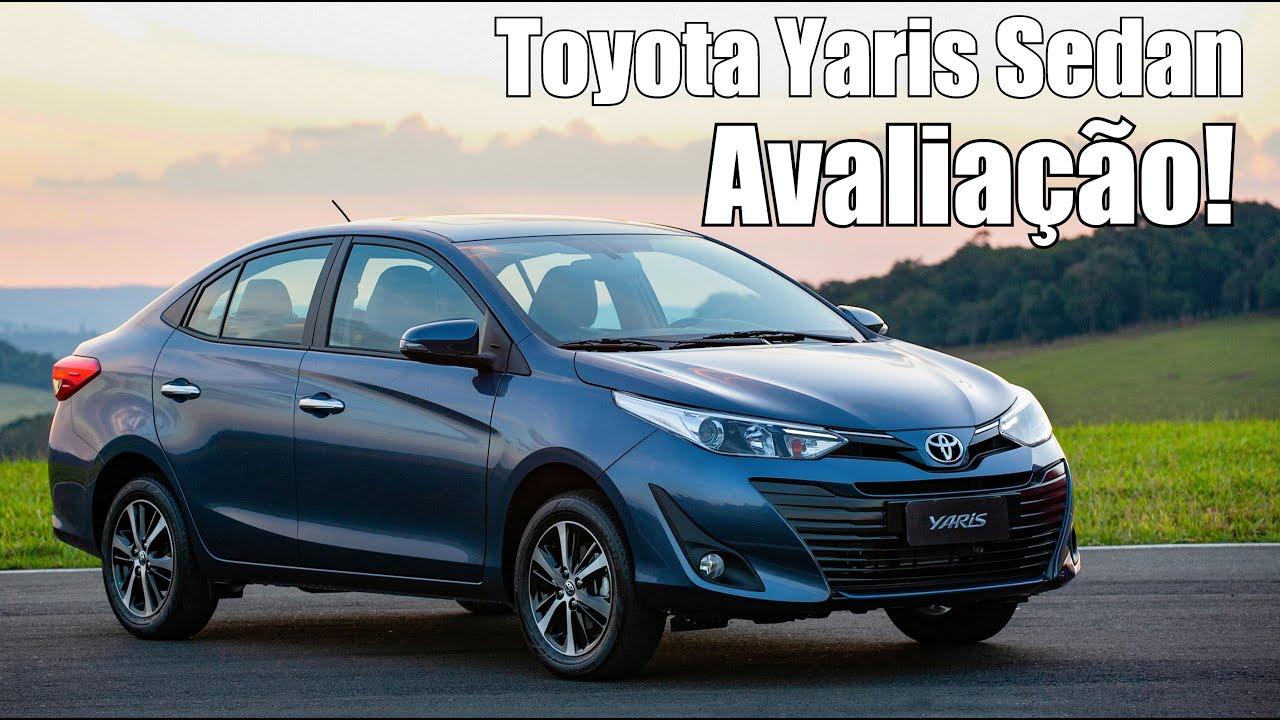 Toyota Yaris Sedan 2019 Avaliação - Falando de Carro - YouTube