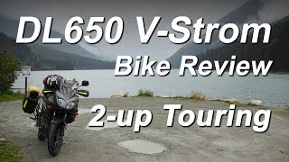 DL650 V-Strom Review 2-up