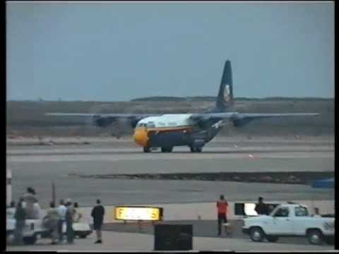 "C-130 ""Fat Albert"" Jet Assisted Take Off (JATO), NAS Miramar Air show"