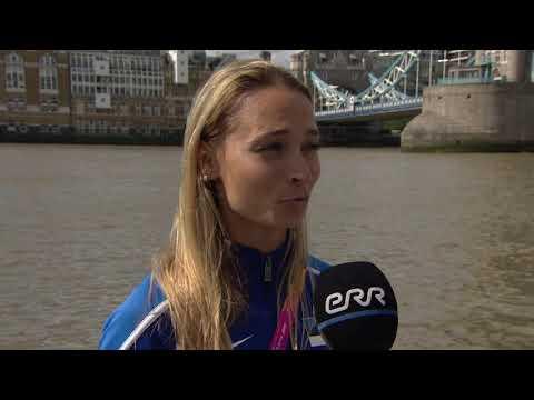 Рекордсменка Эстонии Ксения Балта. Интервью для ETV+
