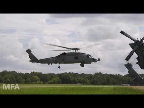 U.S. Navy Helicopters Ready For Hurricane Dorian | MFA