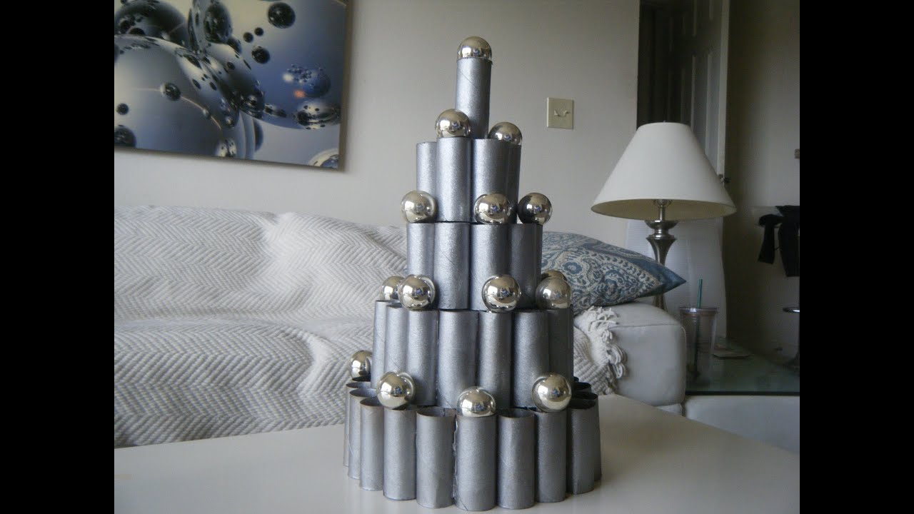 diy contemporary modern christmas decoration idea youtube - Unique Contemporary Christmas Decorations
