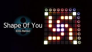 Video Ed Sheeran - Shape Of You (Ellis Remix) | Launchpad MK2 Cover download MP3, 3GP, MP4, WEBM, AVI, FLV Juni 2018