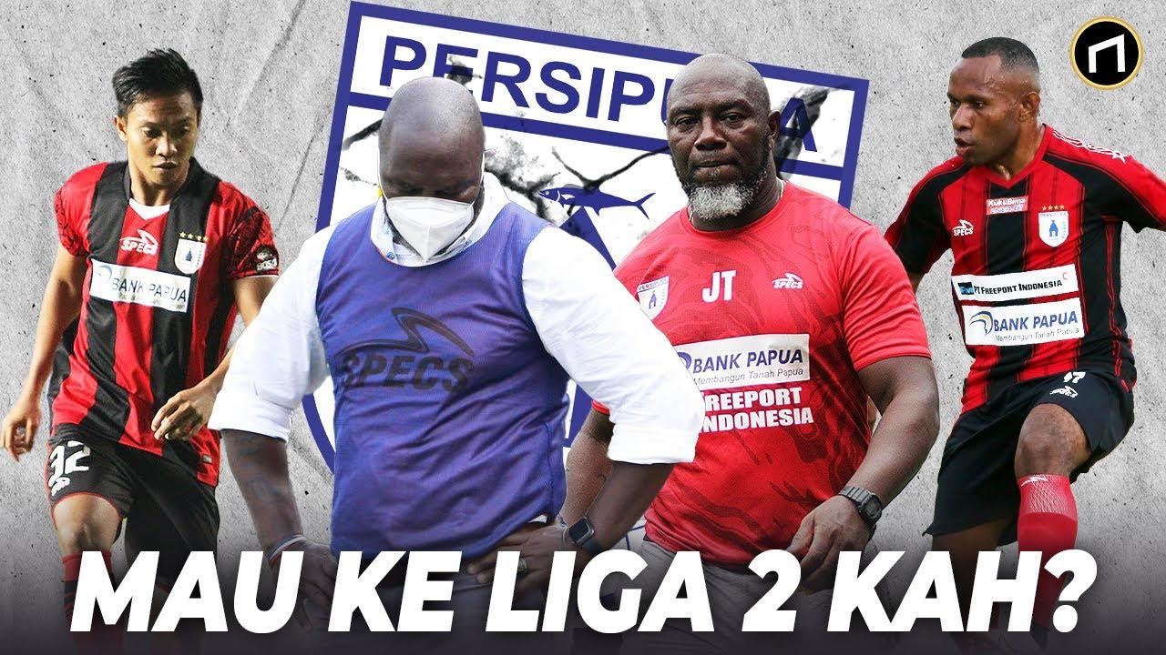 Terjun Bebas Performa Persipura di Liga Indonesia