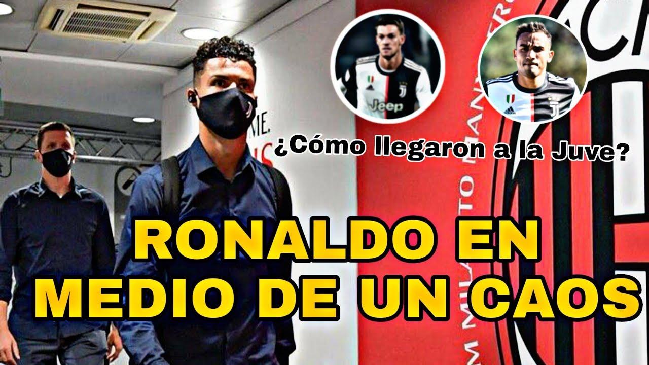 Un milagro de Cristiano Ronaldo puede salvar a la Juve | Milan 4-2 Juve | La jugada del desastre