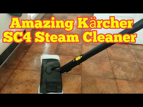 Amazing Kärcher SC4 Steam Cleaner | Cleaning A Dirty Kitchen (Part 1)