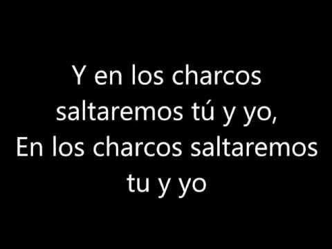Los charcos - Dani Martín (letra) HD