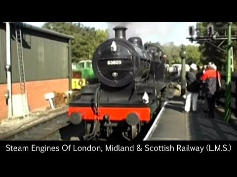 Steam Engines Of London, Midland & Scottish Railway (L.M.S.)