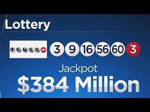 Powerball Jackpot Now $384 Million, Mega Millions At $306 Million