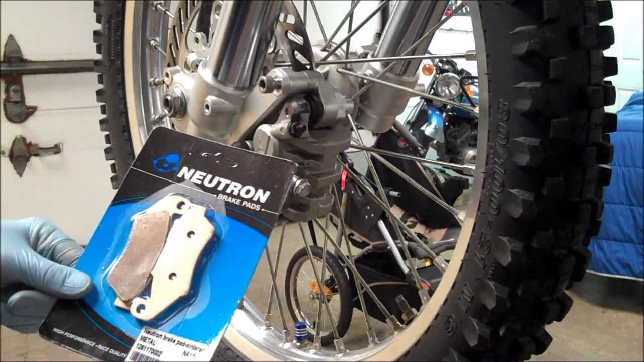 How To Kx250 Front Brake Pad Change Youtube 2014 Kawasaki Kx250f Wiring Diagram
