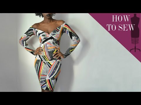how-to-sew-a-off-the-shoulder-crossover-dress