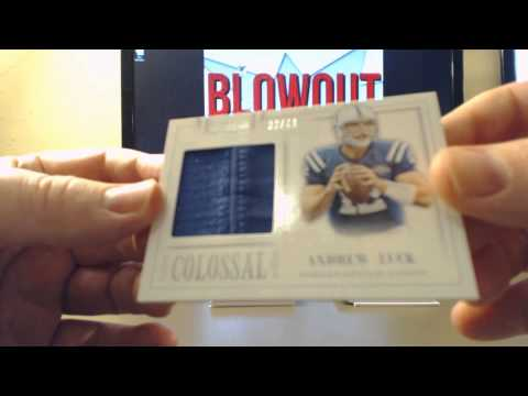 All Ind & Baltimore Colts in 10 Cases 2013 National Treasures Football