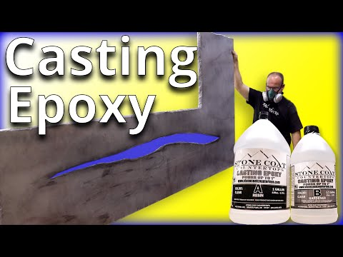 Casting Epoxy With LED Lights | Stone Coat Countertops