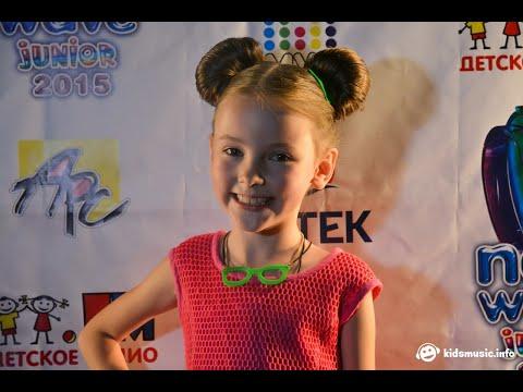 Данэлия Тулешова на конкурсе Детская Новая Волна - 2015 (СУБТИТРЫ)