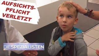 Junge zieht sich Plastiktüte über den Kopf | Auf Streife - Die Spezialisten | SAT.1 TV