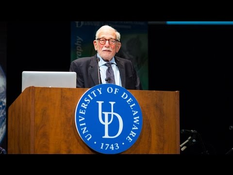 Walter Munk Lecture at University of Delaware