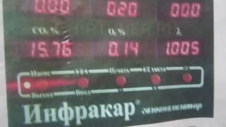 диагностика с помощью газоанализатора Инфракар