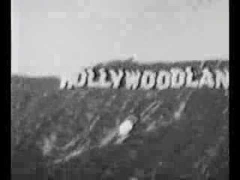Vera goes to Hollywoodland, 1932