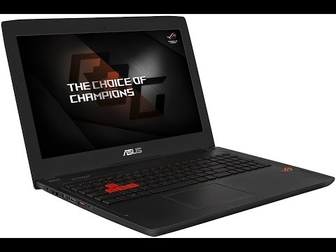 Asus ROG Strix GL502VT Gaming Laptop Review