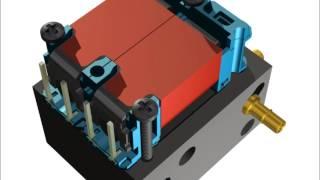 X-Valve - Miniature Pneumatic Solenoid Valve