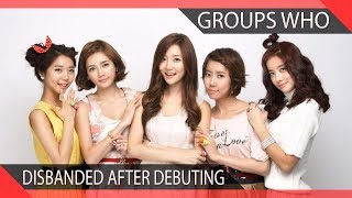 15 KPOP Groups Who Disbanded After Debuting (Part 2)