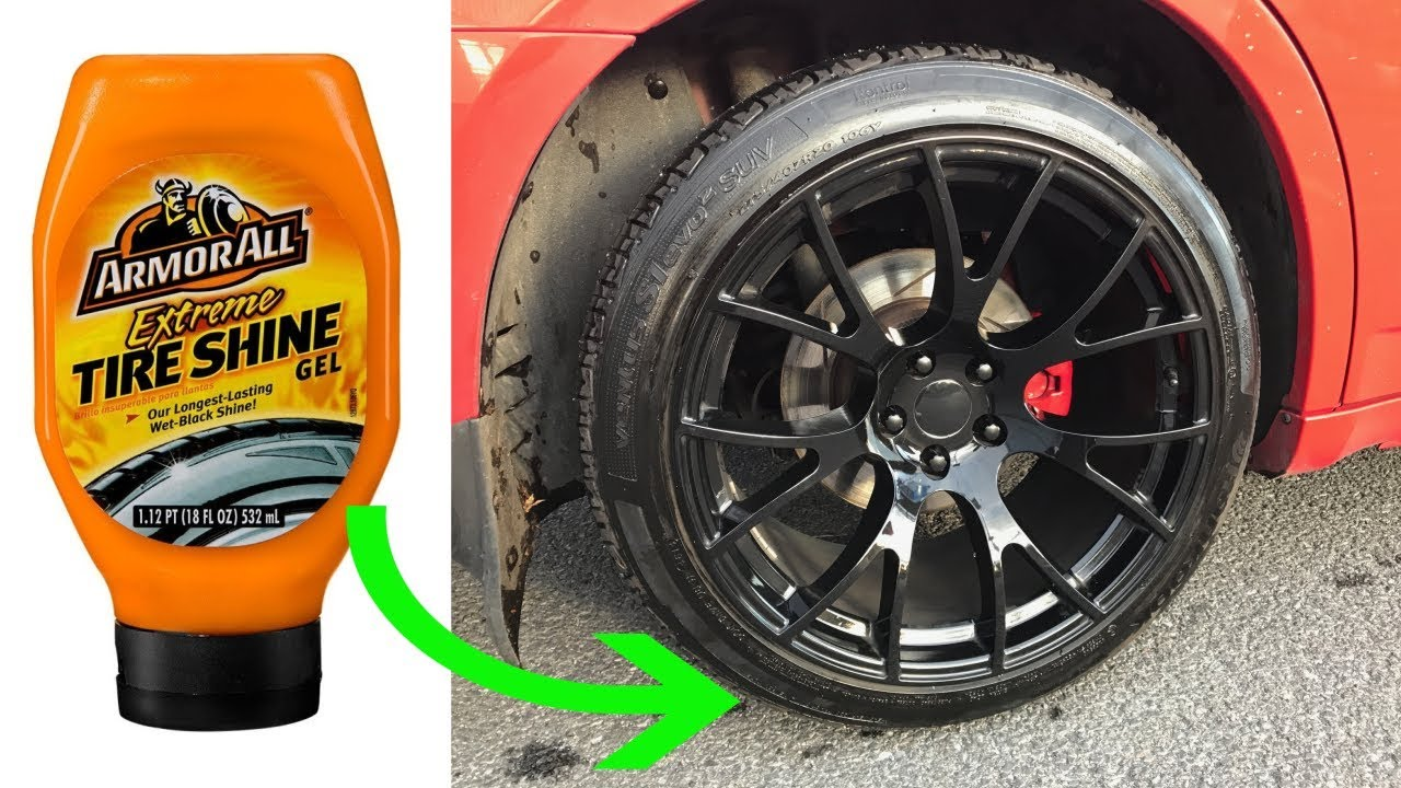 armor all extreme tire shine gel review before after. Black Bedroom Furniture Sets. Home Design Ideas