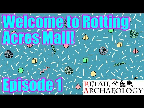 Welcome To Rotting Acres Mall!   Episode 1: Opening Day   Mall Tycoon Livestreaming Series
