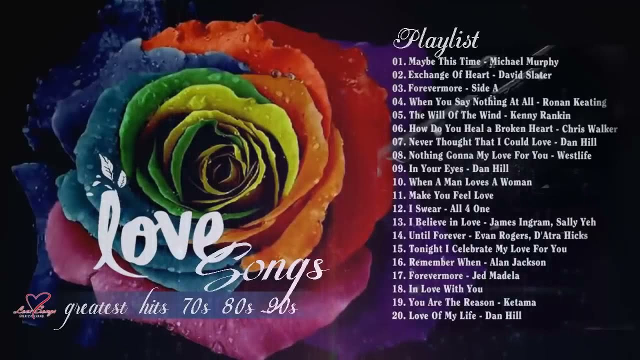 Best Love Songs 70 S 80 S 90 S Playlist Nonstop Love Songs Collection Greatest Love Songs Ever Youtube