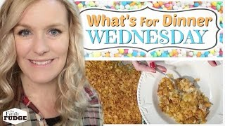 FUNERAL POTATOES || Family Favorite || What's For Dinner Wednesday?