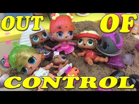 LOL Life! LOL stop motion mini series Ep11 Lil Snuggle babe Chaos!Gets sisters in trouble