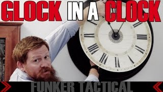 Hide Your Guns In Plain Sight | Glock In A Clock | Tactical Walls