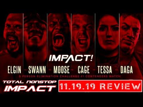TNI I IMPACT Wrestling Review 11.19.19 - Shining Diamonds, Swann Songs & All Stars!