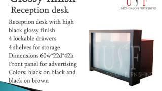 Salon Reception Desk: Stylish And Durable Range By Union Salon Furniture