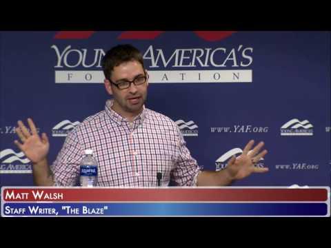 Matt Walsh, Staff Writer for the Blaze