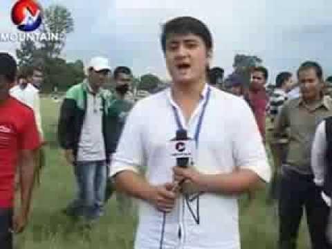 Gaura parva clebration 2013 @ Tudikhel,Kathmandu semi live presentation Paras Shah