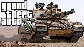 Grand Theft Auto 5 Online - Officer Speirs - Dis Ma Tank