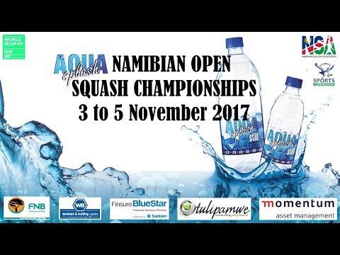 Aqua Splash Namibian Open Squash Championships 2017 - Round 1
