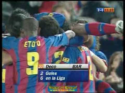 Barcelona - Mallorca 2-0 Deco