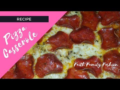 Recipe - Pizza Casserole