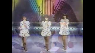 Summer Holiday 1984 Orange Sisters are Judy, Sandy, and Candy (L to...