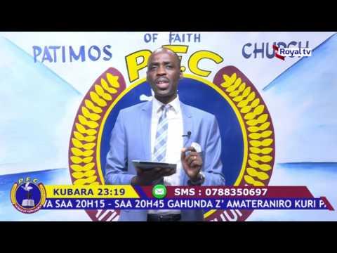"""IMANA NTIBESHYA"" With Rev.Pasiteri Jean Bosco NSABIMANA (ROYAL TV)"