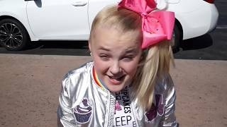 Tydus SURPRISES JoJo Siwa with..