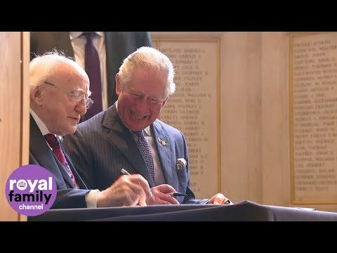Charles and Camilla join Irish president for Liverpool visit Mp3