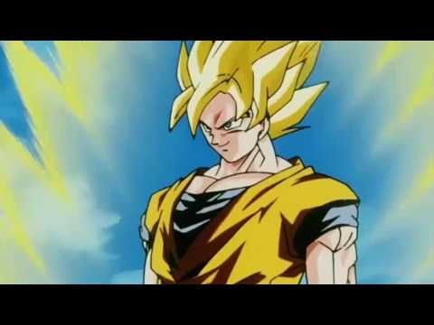 Goku turns Super Saiyan 3 for the First Time (Unbreakable Determination)