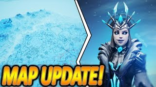 NEW SCHNEE MAP UPDATE & EISKÖNIGIN SKIN !🔥❄️| NEW UPDATE | Fortnite Battle Royale