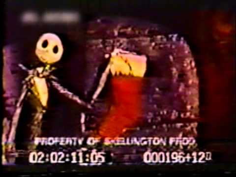 Town Meeting Song - Nightmare Before Christmas - WORKPRINT EXCERPT ...