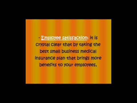 Small business medical plans