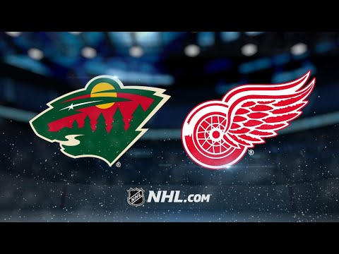 Howard, Red Wings defeat Wild in home opener, 4-2
