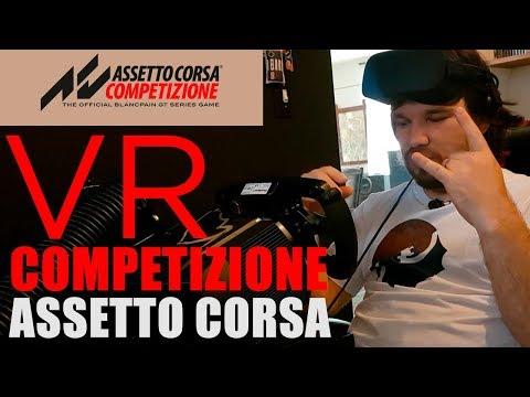 Análise Assetto Corsa Competizione VR - Oculus Rift - Update 2