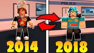 MY ROBLOX CHARACTER EVOLUTION! (2014-2018)